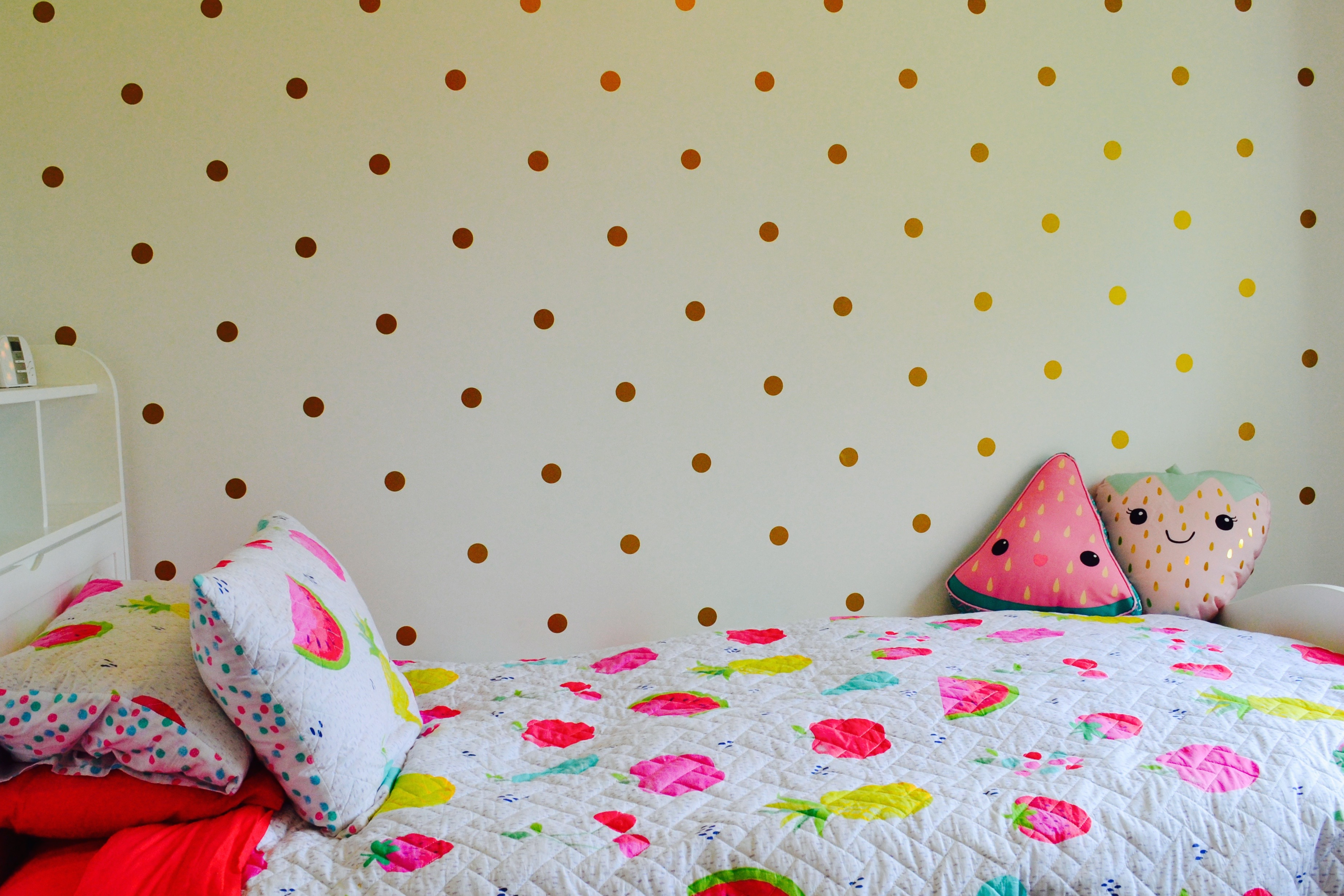 Gold dot wall decals images home wall decoration ideas polka dot wall decals my little label the product is already in the wishlist browse wishlist amipublicfo Images